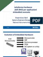 La piattaforma Hardware Riconfigurabile (RIO) Per Applicazioni Embedded Avanzate