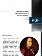 Unidad 3 Benjamín Franklin - Daniel Tobón