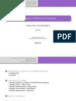 Aula 1 - Modelagem e Dinâmica de processos