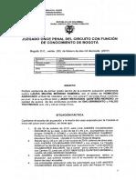 La sentencia completa de la jueza que absolvió a Laura Moreno y Jessy Quintero