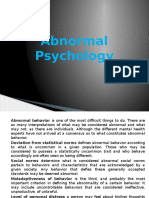Chap12 Abnormal Psych