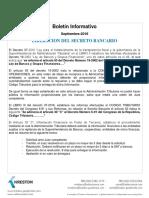 Secreto Bancario Guatemala