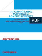 propagandaadvertisements informational materials ppt  1