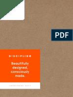 Discipline Catalogue