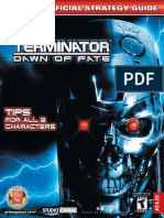 Terminator Dawn of Fate (Official Prima Guide)