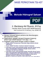 06 Metode Hidrograf Satuan