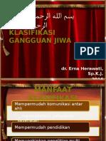 3 - KLASIFIKASI GANGGUAN JIWA.pptx