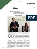 La Jornada, Astillero,