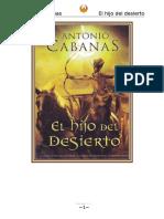 Antonio Cabanas - El Hijo Del Desierto