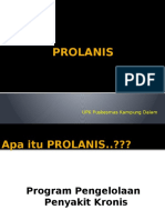 PROLANIS Powerpoint