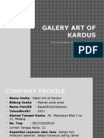 Galery Art of Kardus