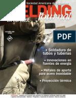 Revista de La Sociedad America de Soldadura Aws- Octubre 2016