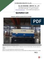 QC11Y-16-4000 Hydraulic Shearing Machine
