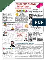 newsletter february 20-24
