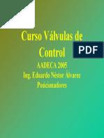 Curso de Valvulas de Control