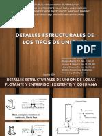 detalles estructurales-uniones