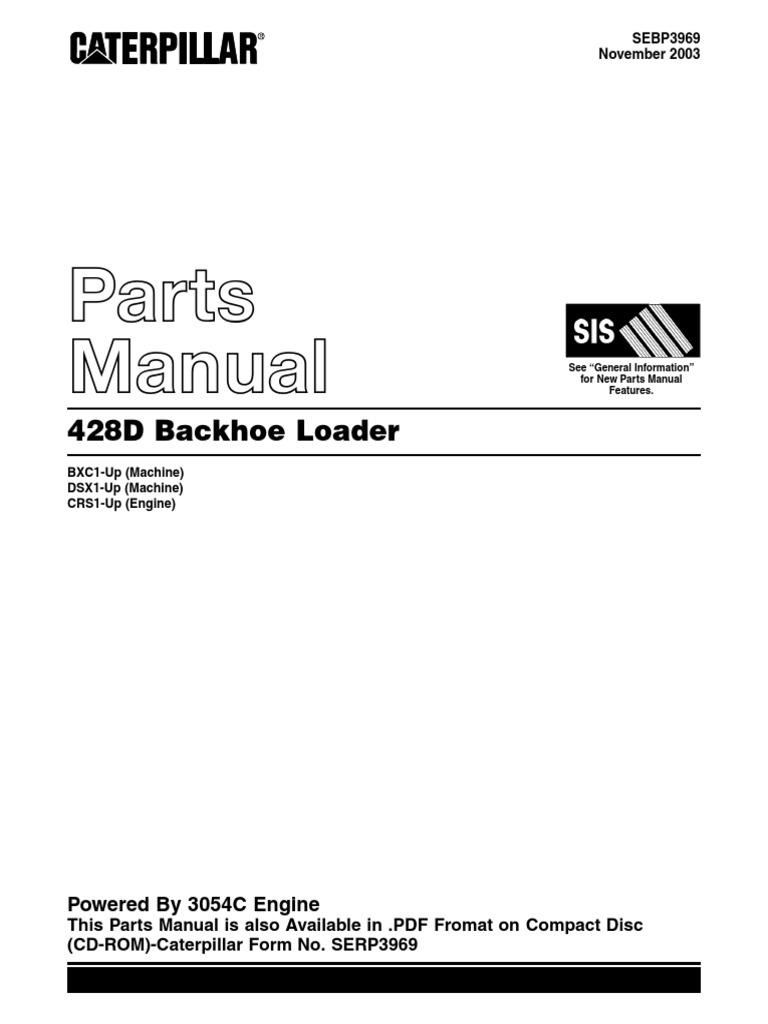 428D Backhoe Loader Parts Manual.pdf
