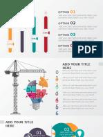 6页精美创意立体PPT图表 2