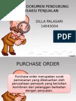 Dokumen Dokumen Pendukung Transaksi Penjualan