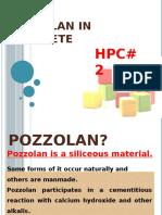Pozzolan in Concrete