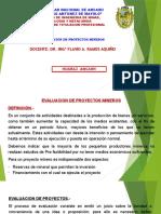 2. Evaluación de Proyectos Mineros