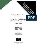 Sistima Digital princ y aplicac 10ma Edicion, Ronald Tocci - Solucionario.pdf