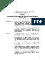 Kepmenkes No.432 Thn 2007 ttg pedoman manajemen kesehatan dan keselamatan kerja (K3) RS.pdf
