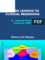 A Guide Leading to Clinical Reasoning