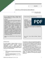 Biologia Molecular en Micologia Medica