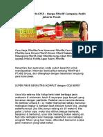 WA 0812-8899-4755 , Harga Fiforlif Cempaka Putih Jakarta Pusat