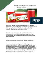 WA 0812-8899-4755 , Jual Fiforlif Rawa Jati Pancoran Jakarta Selatan.rtf