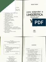 MARTIN, R. Para Entender a Linguística - Fundamentos Epistemológicos de Uma Disciplina - InTRODUÇÃO
