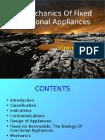 Fixed Functional Appliances - Biomechanics