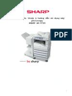 Huong Dan Su Dung May Photocopy SHARP AR 5726