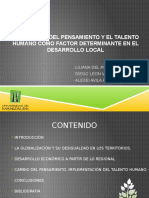 Trabajo colaborativo_Adaptación del pensamiento y el talento humano