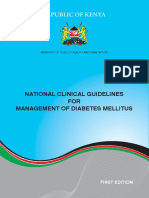 National Clinical Guidelines for Management of Diabetes Melitus - Complete