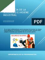 IMPORTANCIA DE LA SEGURIDAD E HIGIENE INDUSTRIAL.pptx