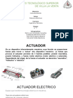 Actuador Electrico