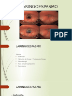 Presentacion LARINGOESPASMO