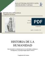 Historia de La Humanidad (1)