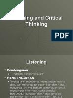 Chapter 5 Listening Critical Thinkin