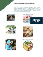 Cómo Construir Ambientes Familiares Sanos