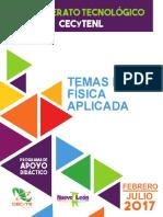 Temas de FÃ-sica Aplicada 2017 SFM