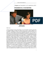 La Vaccination Devoilee (28pages)