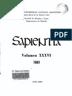 Revista Sapientia - Fascículo 139