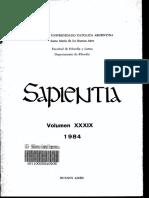 Revista Sapientia - Fascículo 151