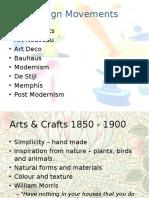 Design Movements - GCSE Product Design
