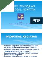 Proposal Dan Laporan Kegiatan