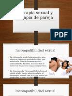 Terapia Sexual y Terapia de Pareja