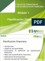 Modulo 1 Planificacion F y Ahorro